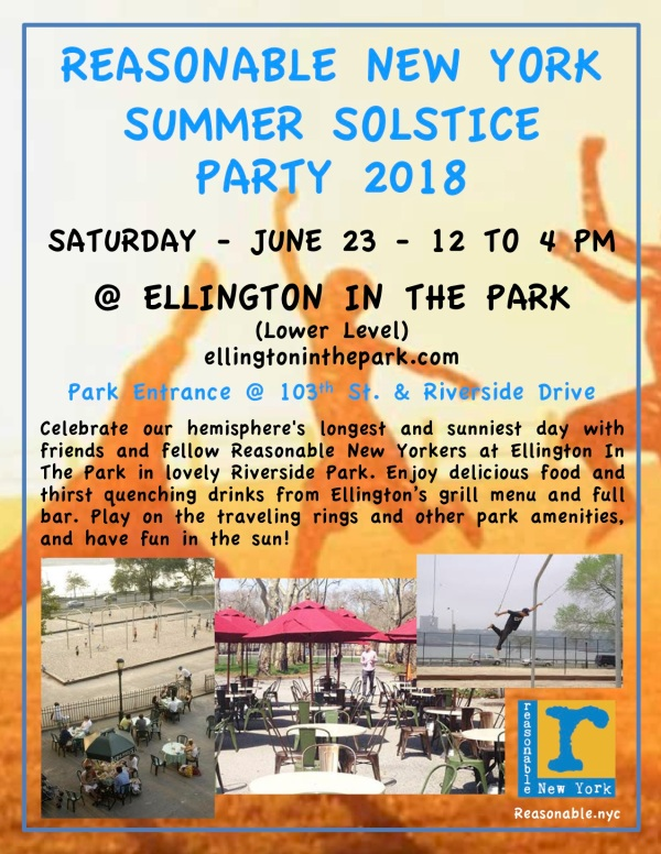 Summer Solstice Party in the Park 2018